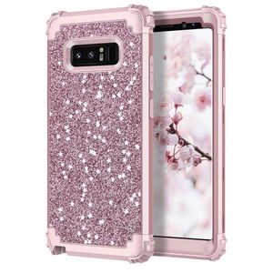 Other - Galaxy Note 8 Glitter Rose Gold Pink Phone Case